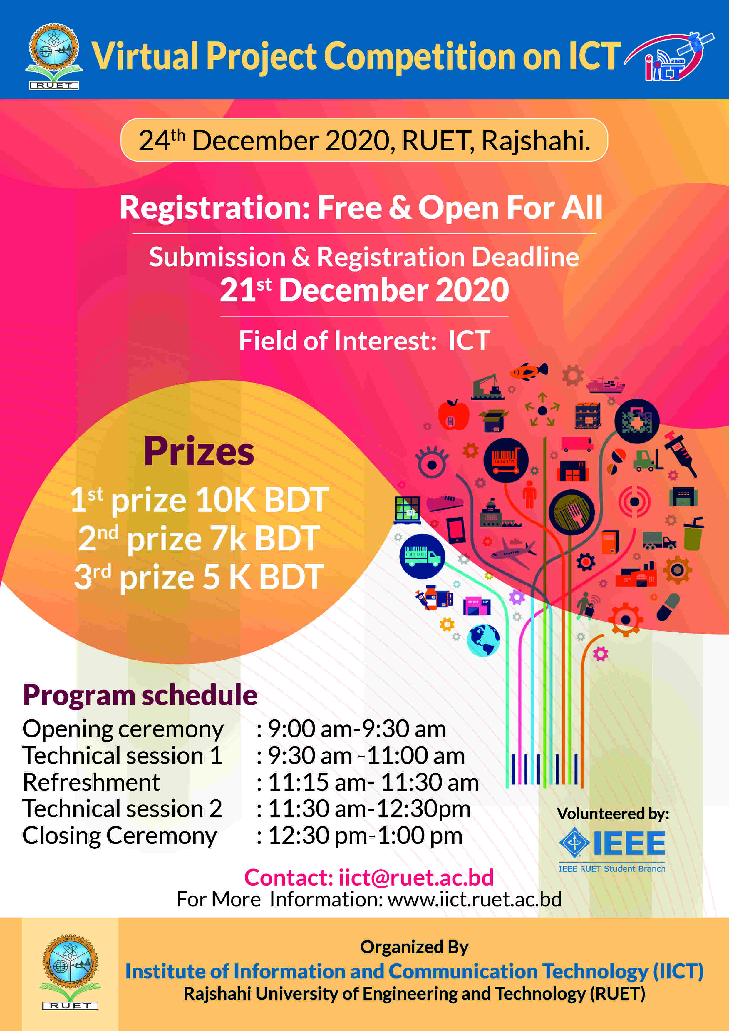Virtual Project Competition on ICT